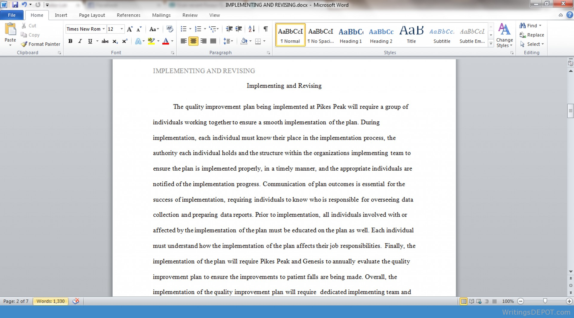013 Essay Example Screenshot 121 Unforgettable 700 Word 500-700 Sample Pages 1920