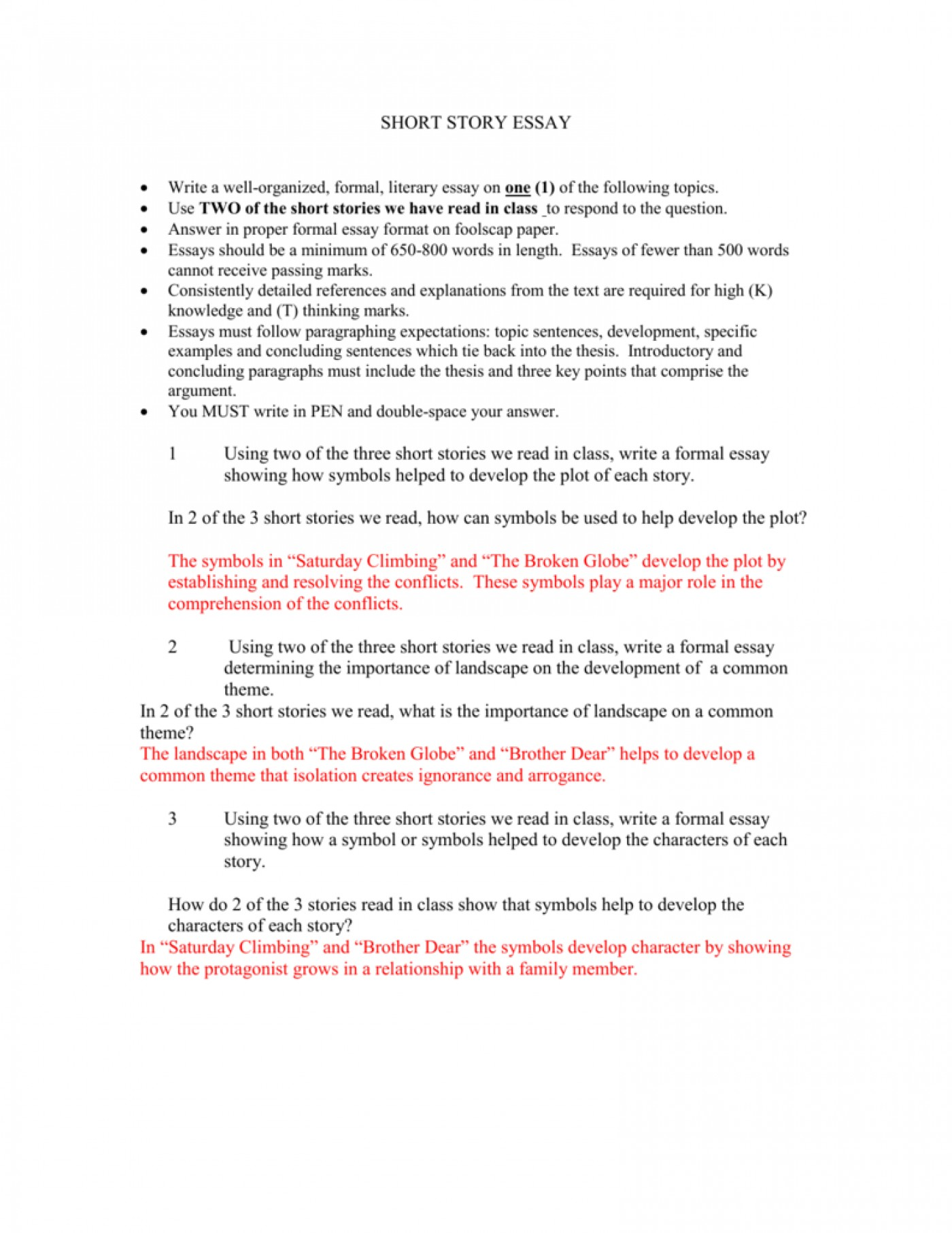 013 Essay Example Short Stories In Essays 007303959 1 Impressive Fiction Analysis Examples Story Format 1400