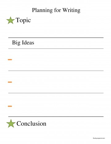 013 Essay Example Stars And Bars Free Planning Page Outstanding Brainstorming Writing Techniques Topics College 360