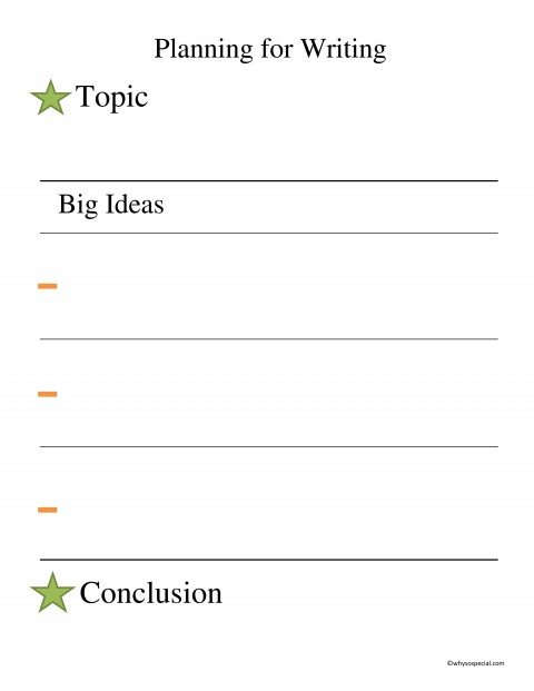 013 Essay Example Stars And Bars Free Planning Page Outstanding Brainstorming Writing Techniques Topics College 480
