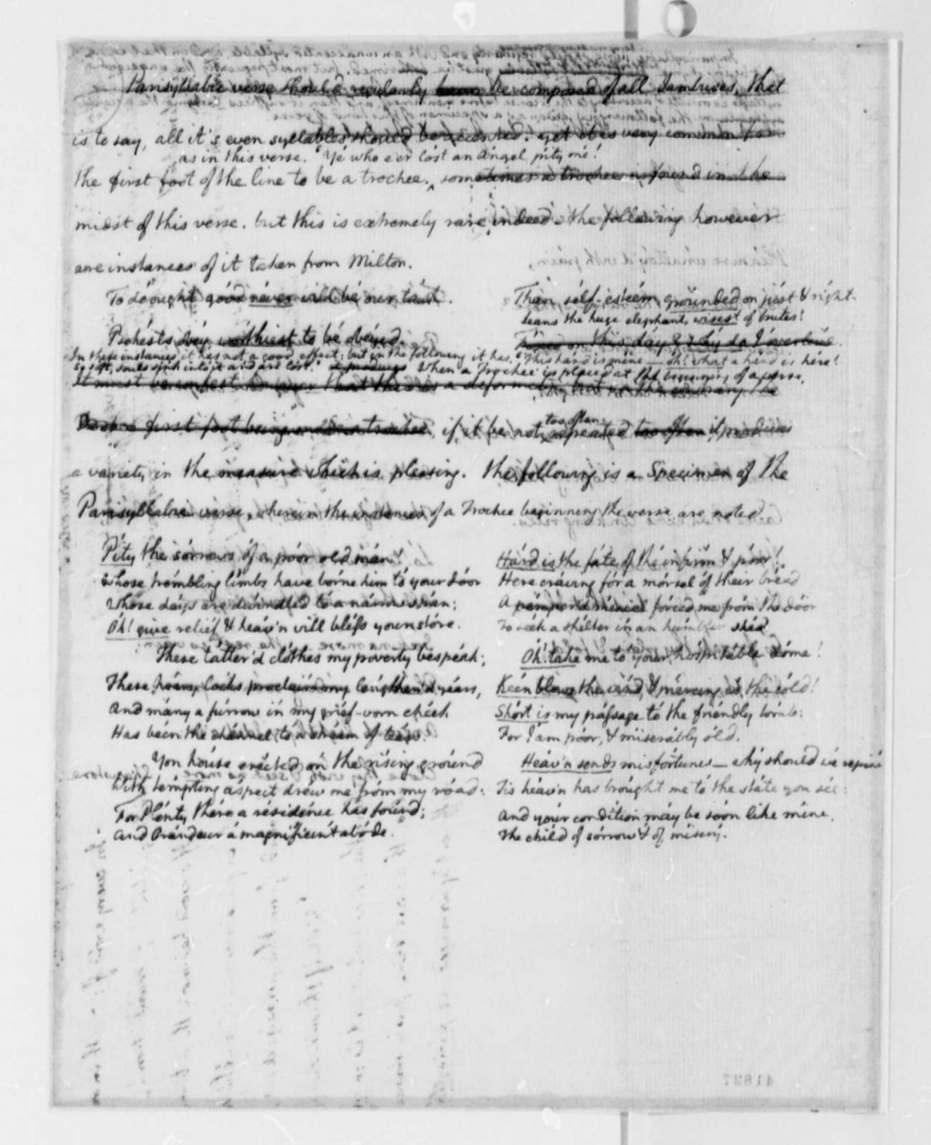 013 Essay Example Thomas Jefferson To Francois Jean Chevalier Chastellux October With Magnificent On Education Questions Outline Large