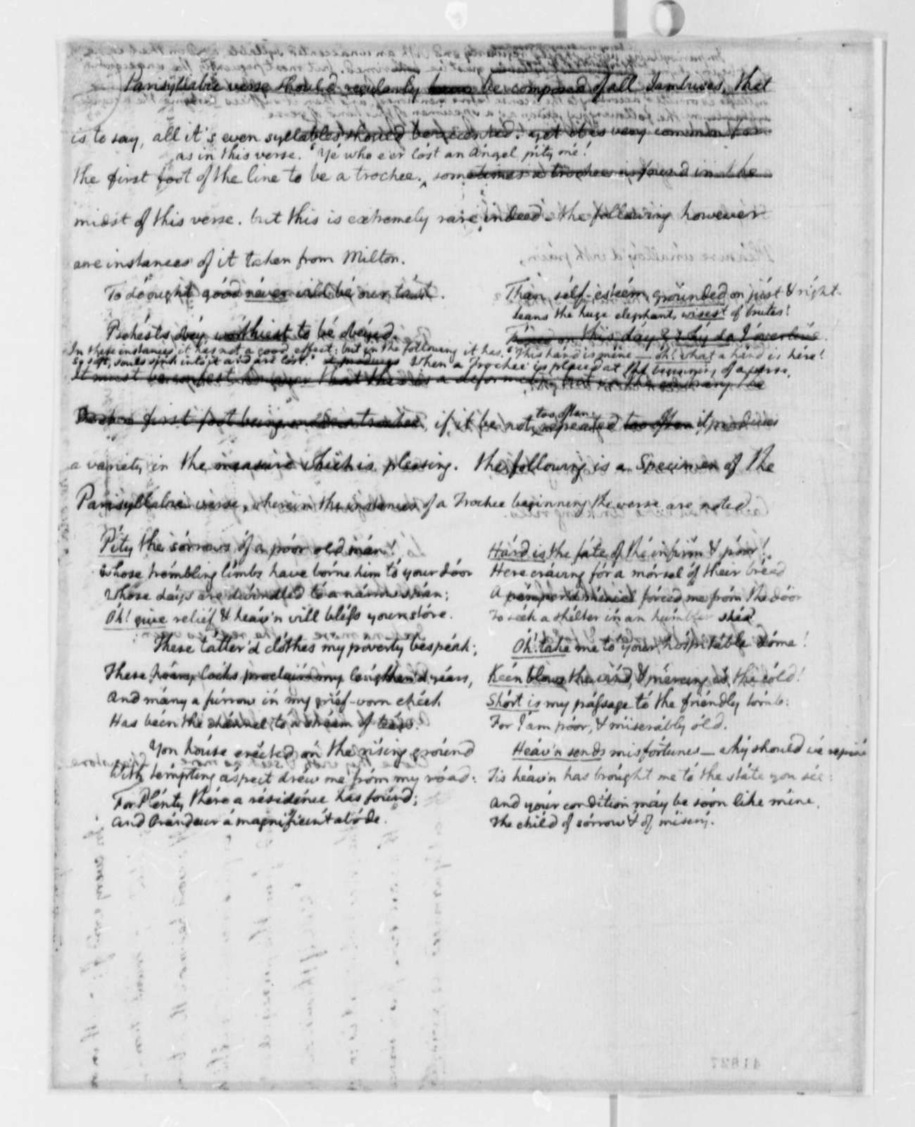 013 Essay Example Thomas Jefferson To Francois Jean Chevalier Chastellux October With Magnificent Questions High School Sample Full