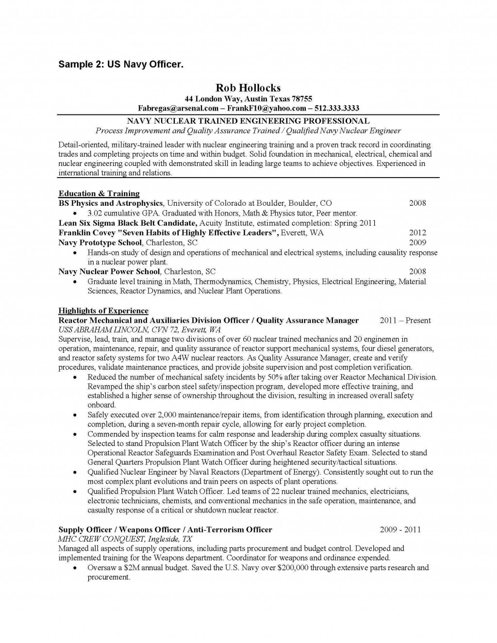013 Essay Example Us Navy Officer Page 1 National Honor Society Staggering Character Examples Large