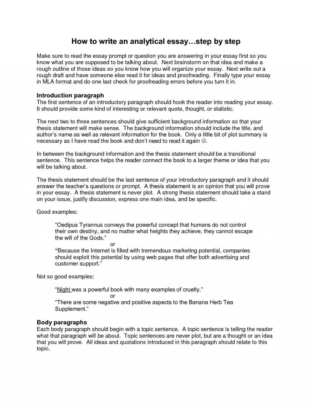 013 Essay Example What Is Background Information In An Shocking Argumentative Does Mean Large