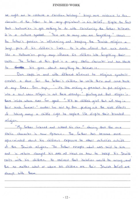 013 Essay Example What Is Thesis In Top A An Statement Argumentative Informative 480