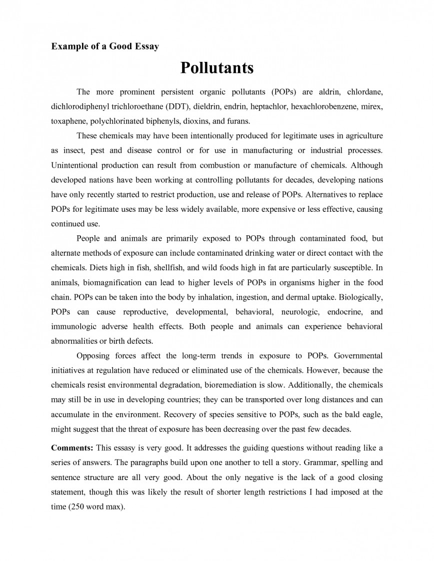 013 Essay Example Writing Unforgettable Format College In English Pdf For High School Students