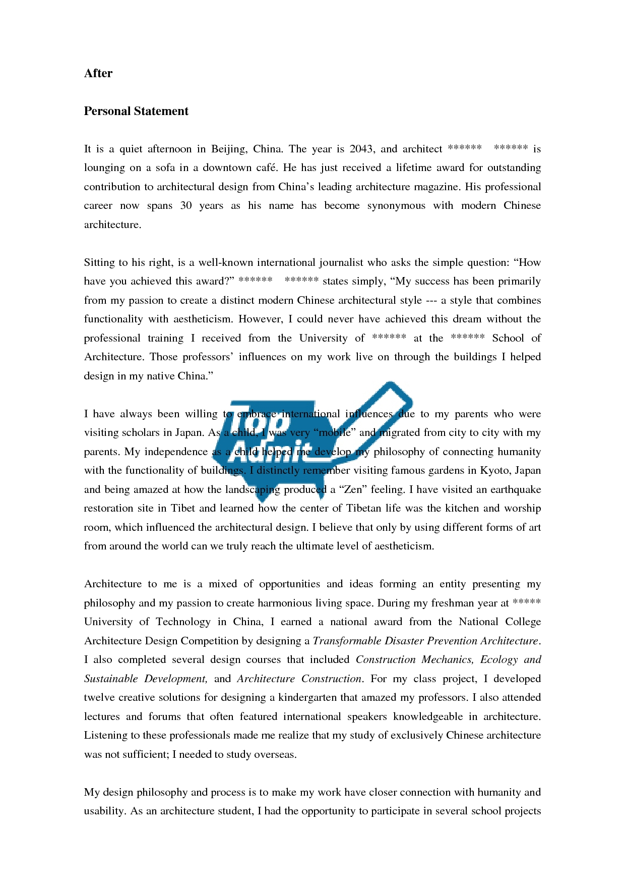 013 Essay Example Zwjgmmd Ucf Fascinating Application Admission Question Word Limit Full