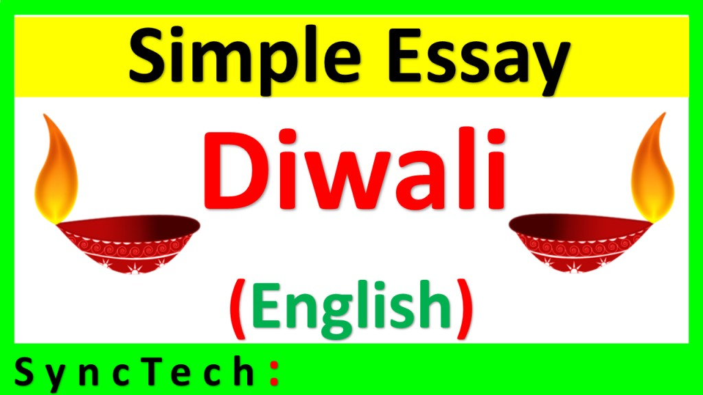 013 Essay Example2bessay2benglish Simple On Striking Diwali For Class 1 My Favourite Festival Large