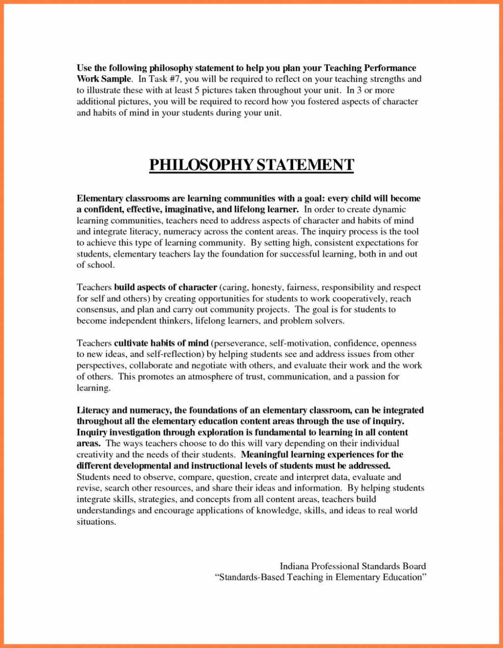 013 Essay Exampleaching Philosophy Statement Coursework Academic Writing Of Early Childhood Education Essays Self Reflection On My Personal 1048x1351 Why I Want To An Exceptional Be Teacher A Preschool Large