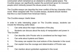 013 Essay On The Crucible Example Phenomenal And Red Scare Reputation Questions For Act 1