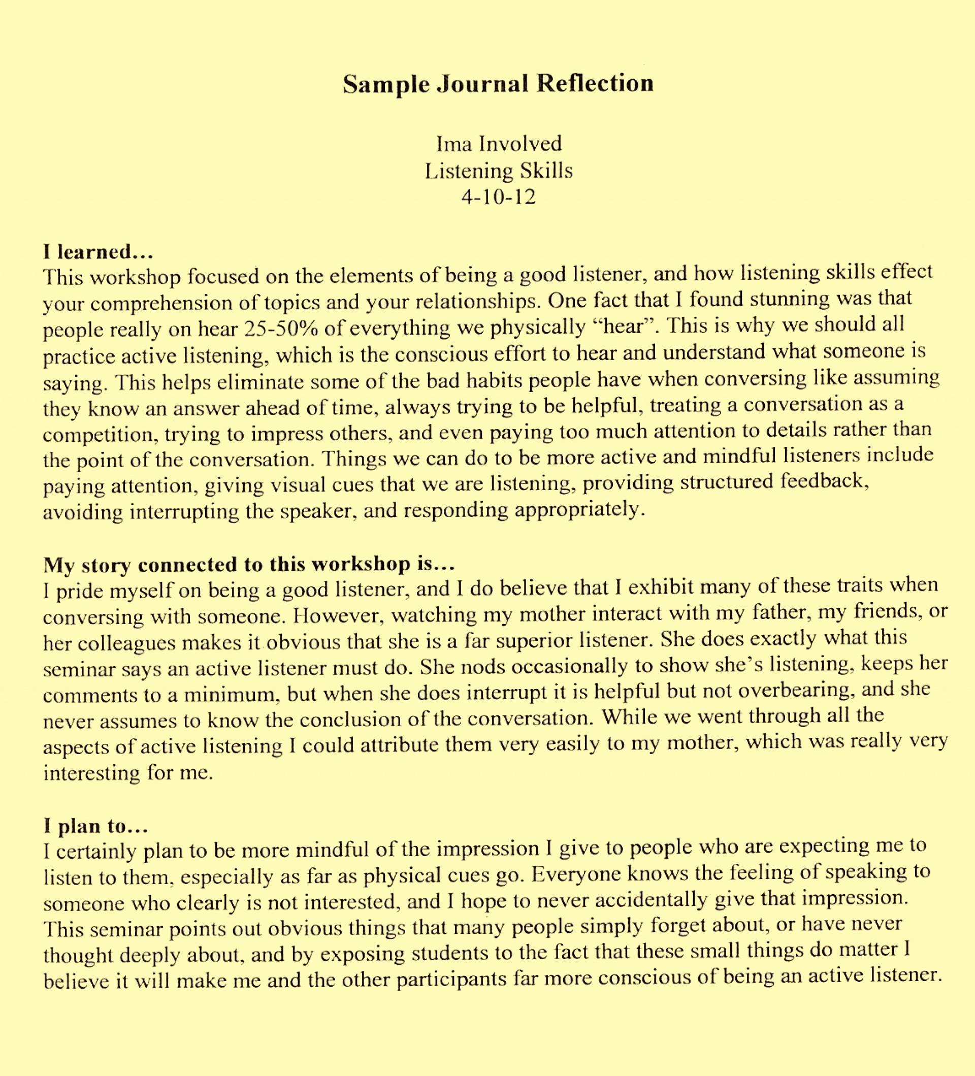 015 example of reflective essay funniest university