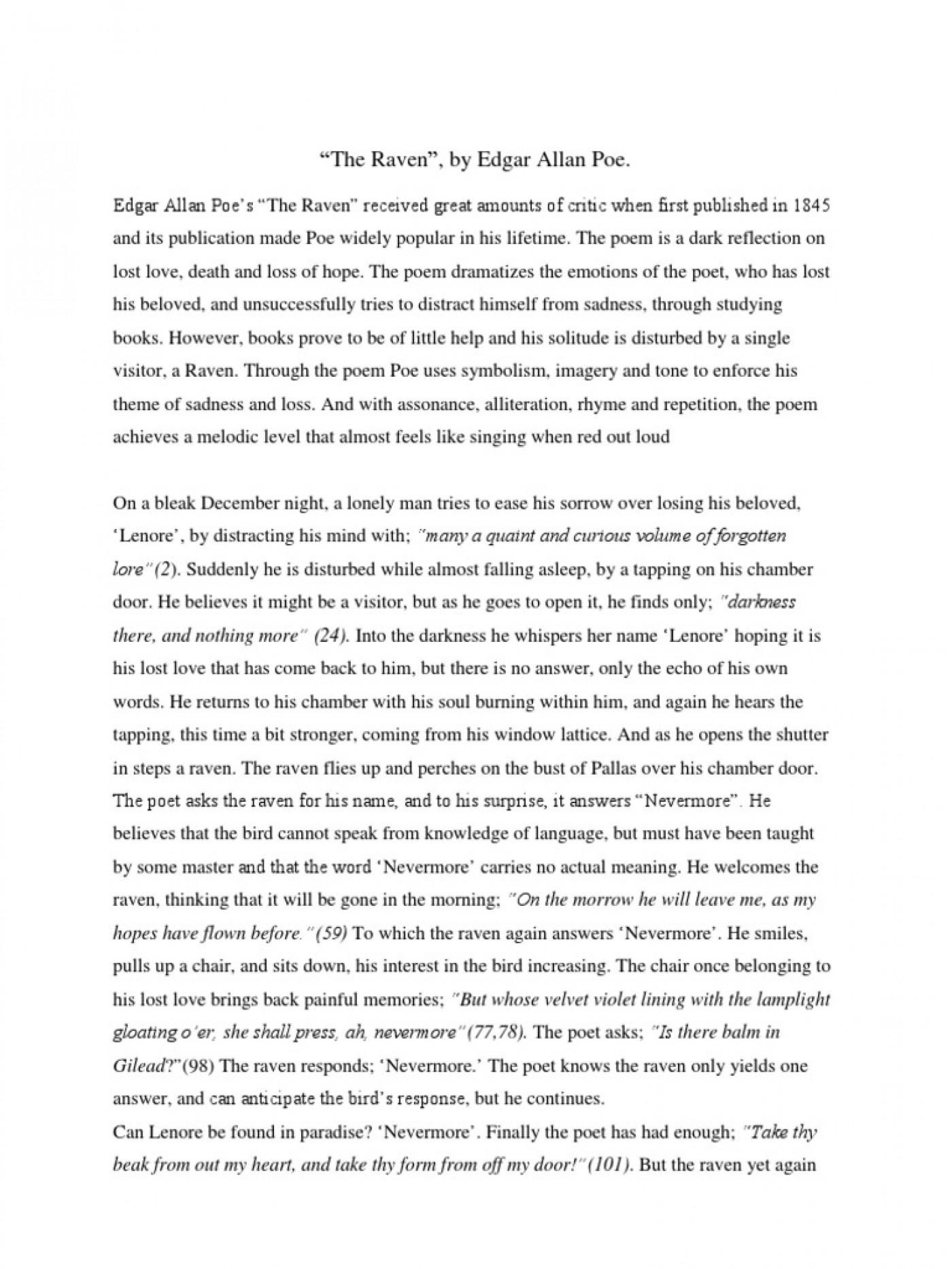 Descriptive essay for elementary