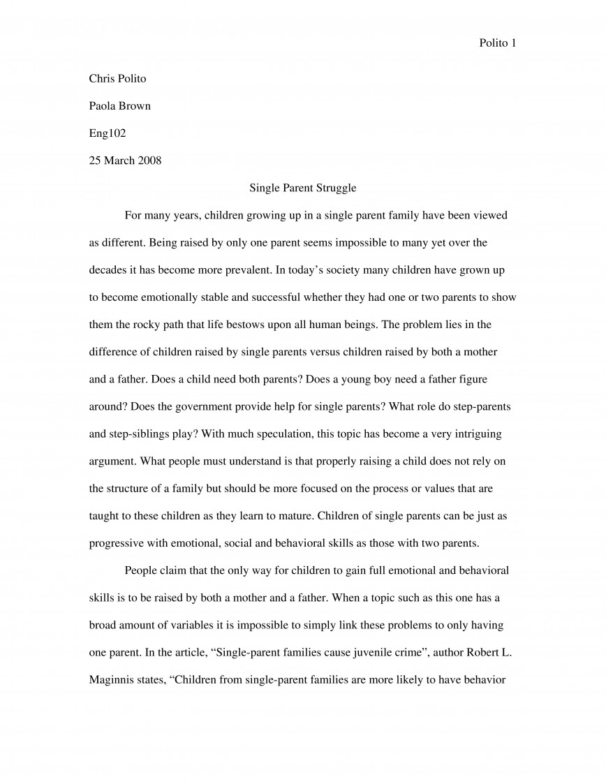 013 Expository Essay Sample 2 Format Fascinating Mla Example Introduction Examples Apa 868