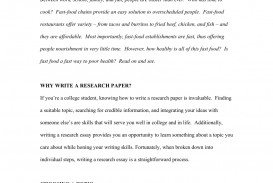 013 Fast Food Essay Example Stunning Research Paper Argumentative Topics