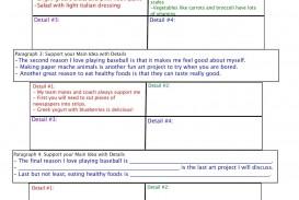 013 Five Paragraph Essay Graphic Organizer Wonderful 5 Middle School Pdf Organizer-hamburger