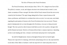 013 French Revolution Essay Phenomenal Outline Titles Causes Conclusion 320
