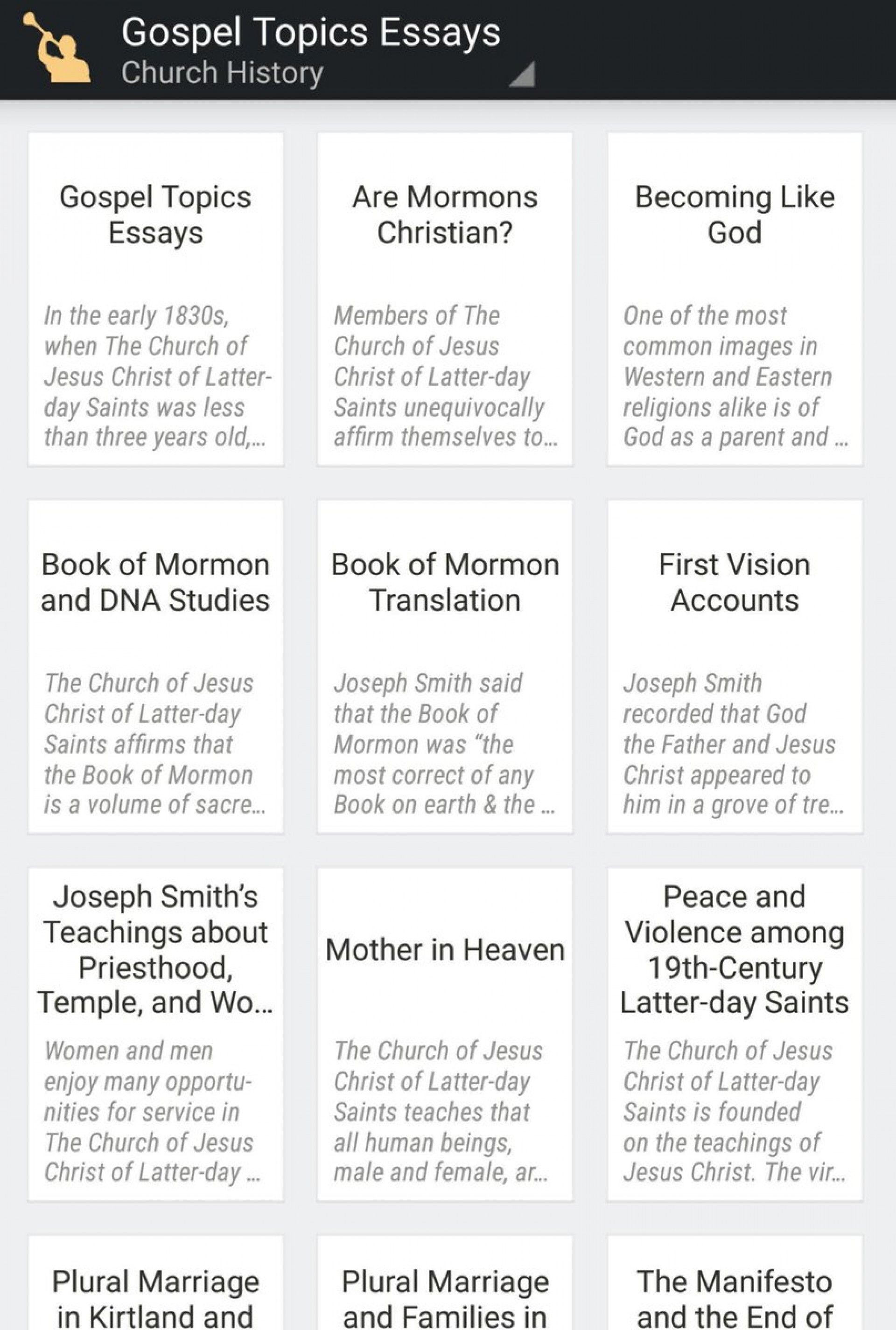 013 Gospel Topics Essays Chjy Kbveaadaux Essay Outstanding Pdf Plural Marriage Becoming Like God 1920