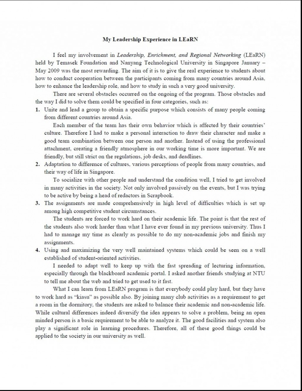 013 Great Leadership Essays Essay Short On Experiences Of Skills Very Sample How To Show Qualities 936x1211 Awesome About Experience Transformational In Hindi Large