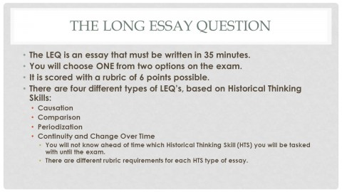 013 How Long Is An Essay Thelongessayquestion Staggering Paragraph Should Question Response Be Answer On A Test 480