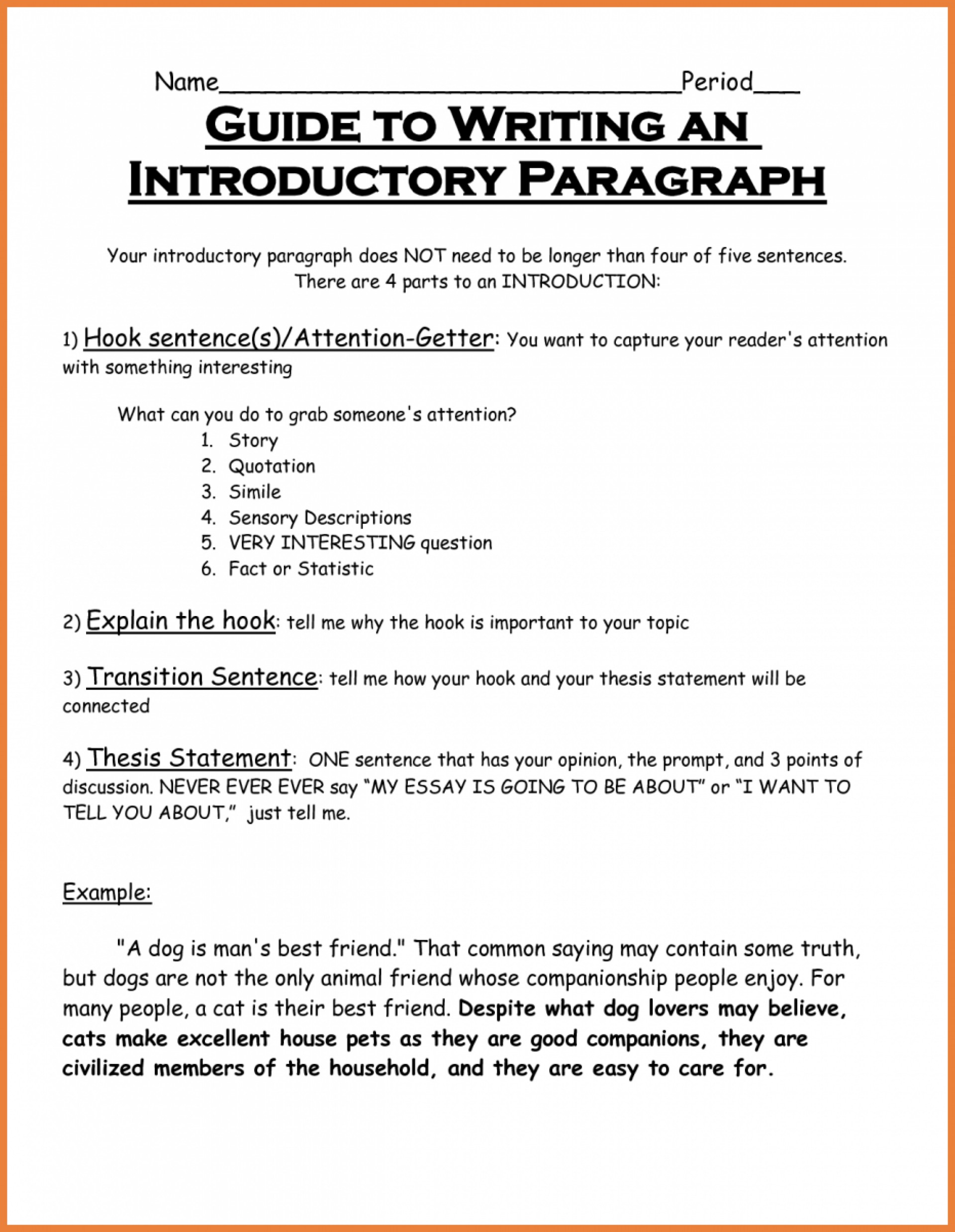 013 How Many Sentences Are In Essay Best A 5 Paragraph Short 1920