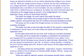 013 How To Write Autobiography For College Essay Surprising Example Format Students High School