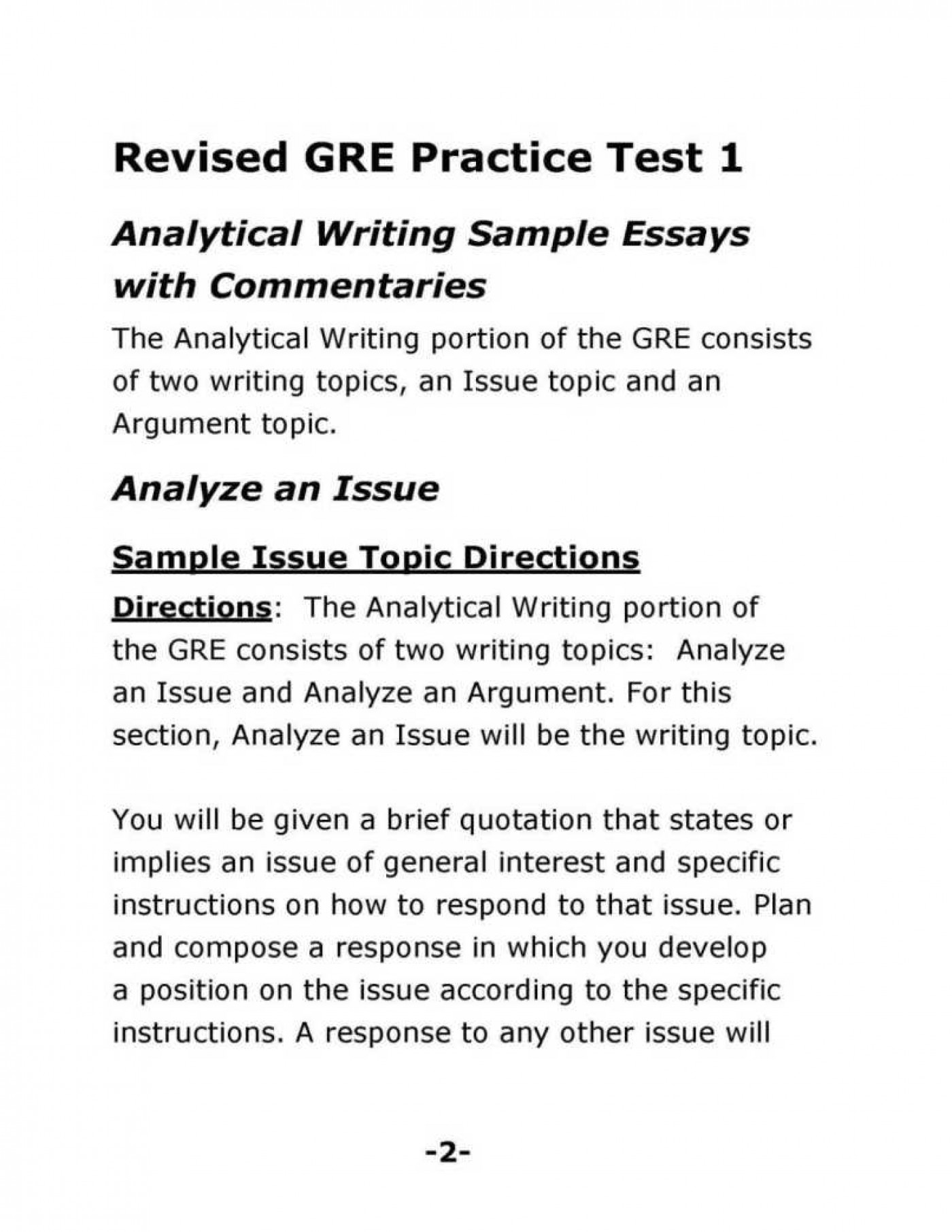 013 How To Write Gre Argument Essay Formatted Resume Example Sample Test Papers With Soluti Good