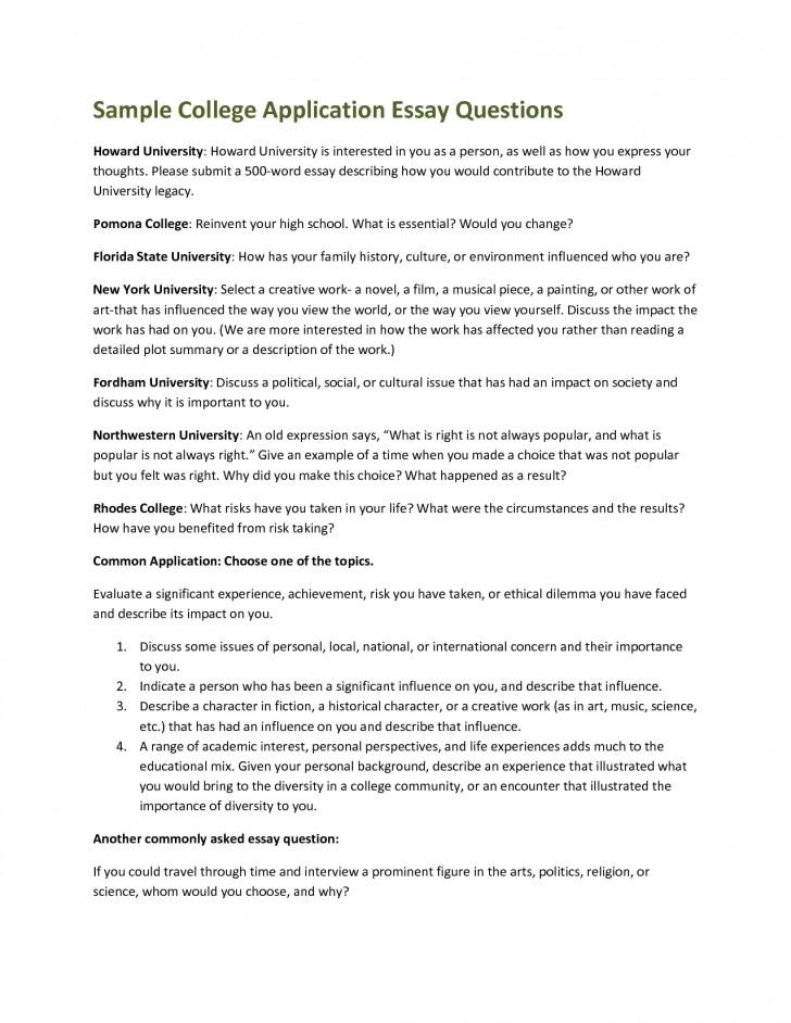 004 Essay Example Screen Shot At Pm Common App ~ Thatsnotus