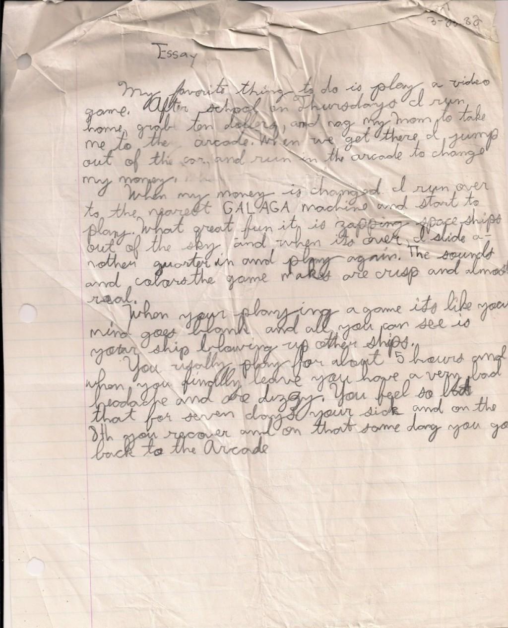 013 My Hobby Essay Example Videogameessay1982 Impressive In Urdu Class 7 Hindi Cricket Marathi Large