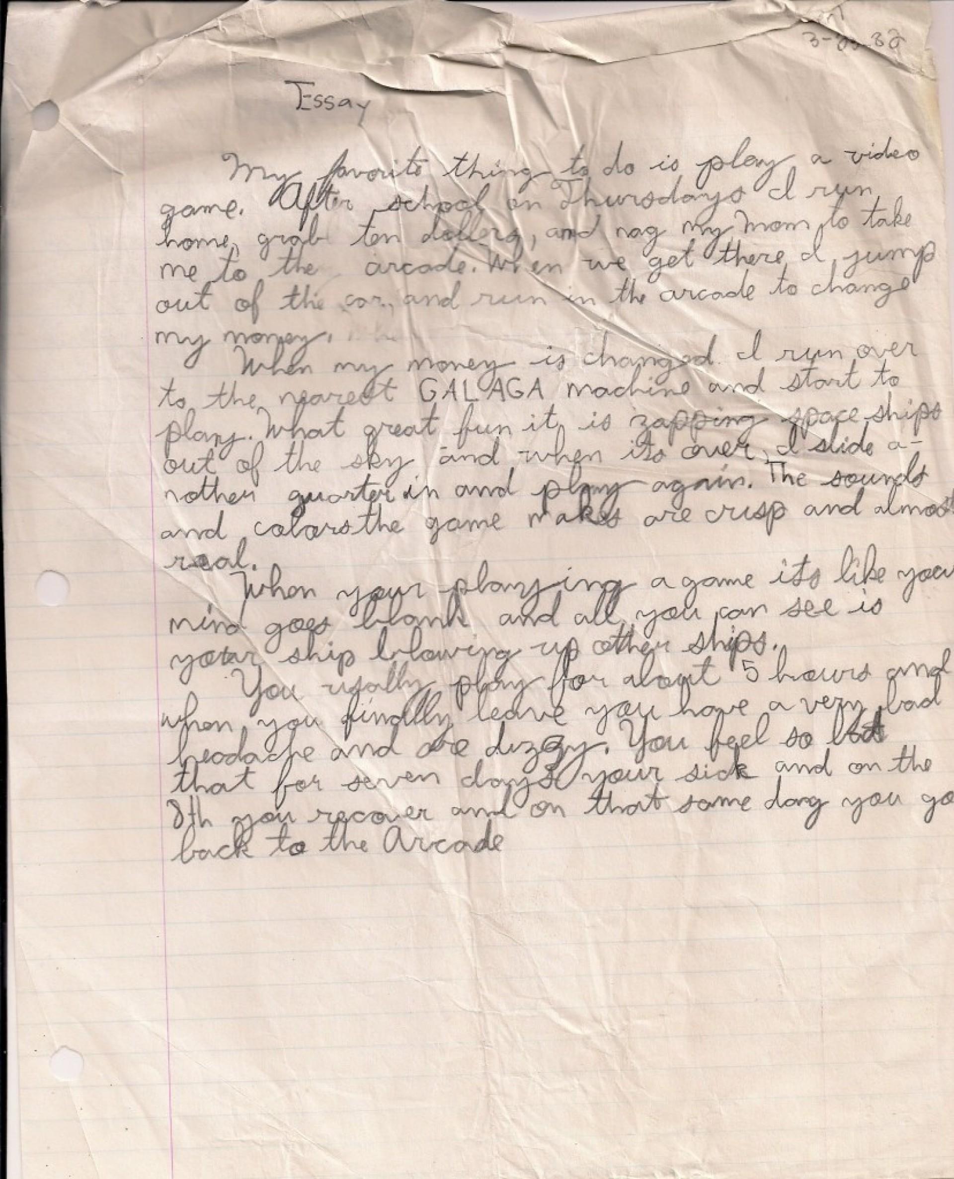 013 My Hobby Essay Example Videogameessay1982 Impressive In Urdu Class 7 Hindi Cricket Marathi 1920