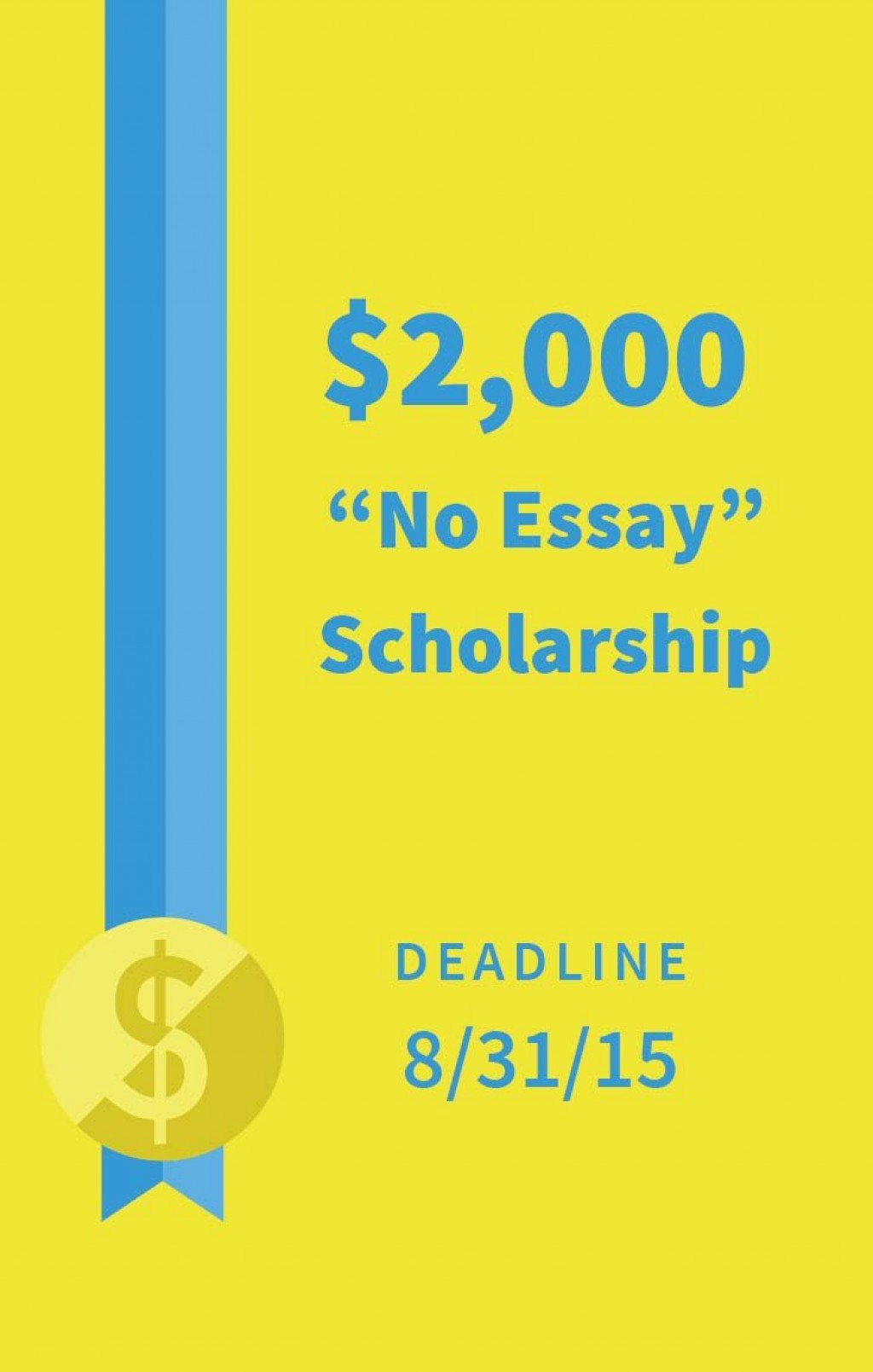 013 Niche No Essay Scholarship Marvelous Reddit Winners Large