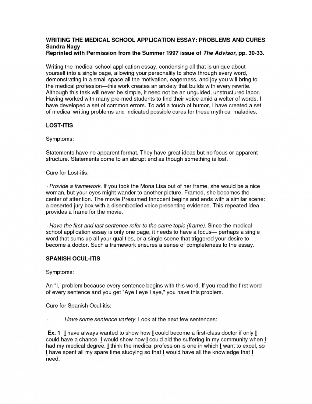 013 Osteopathic Medical School Essay Sample Arqoexilfu Awful Large