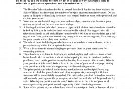 013 Persuasive Essay Prompts Example Ideas For Imposing A Middle School Students Uk Good