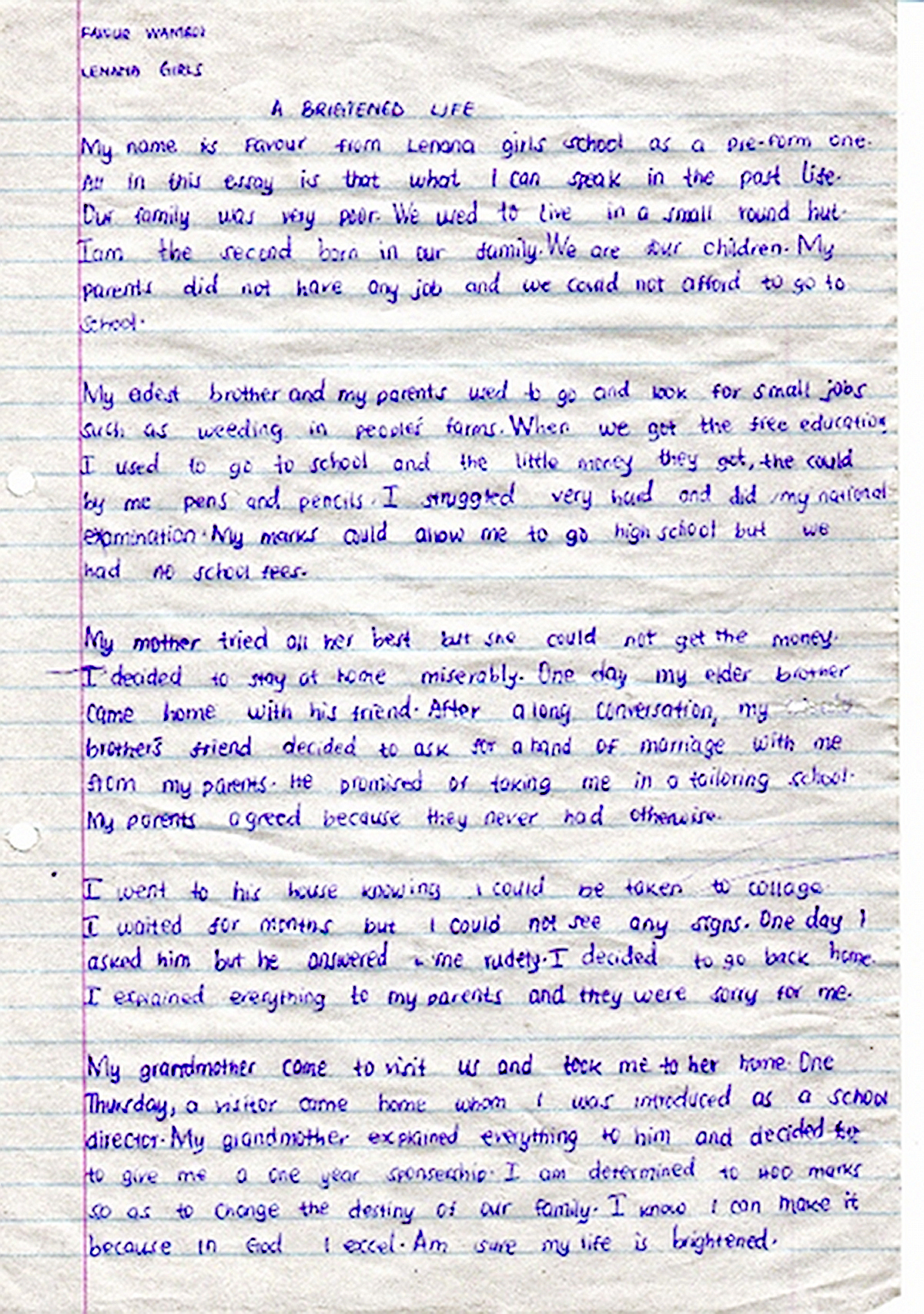 013 Purpose Of Life Essay Example Brightened By Favour Wamboi My In L Wondrous Conclusion How To Have A Driven Can I Full