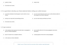 013 Quiz Worksheet Organizing An Essay And Building Outline For Marvelous Writing Example Introduction Argumentative