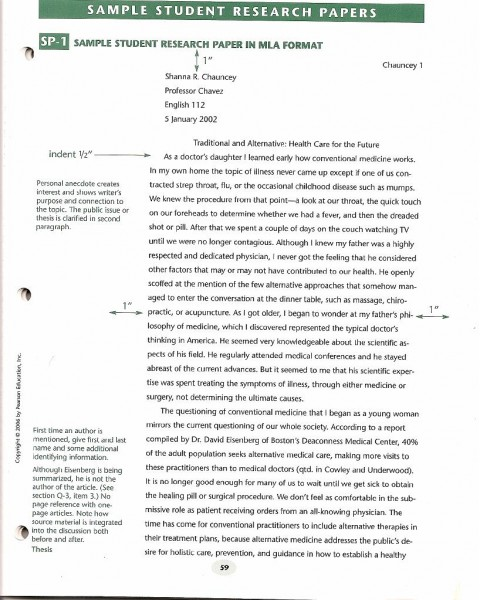 013 Research Paper Format Sample Apa Short Essay Archaicawful Example 480