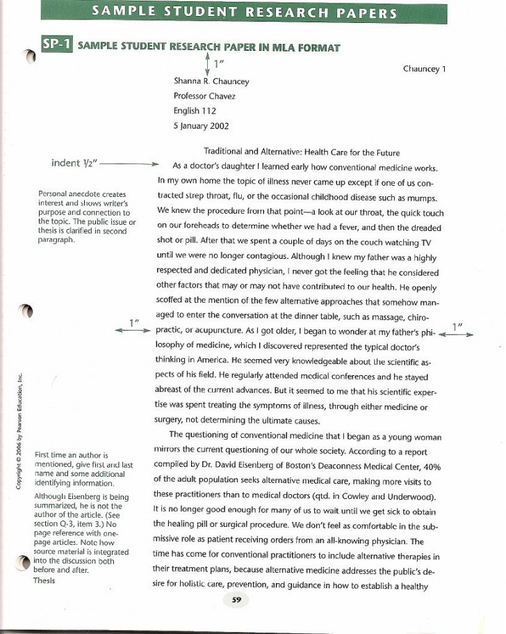 013 Research Paper Format Sample Apa Short Essay Archaicawful Example 728