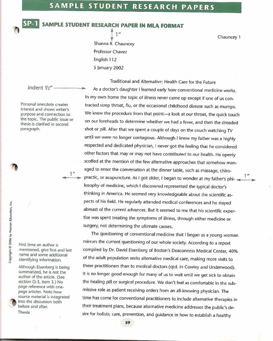 013 Research Paper Format Sample Apa Short Essay Archaicawful Example 868