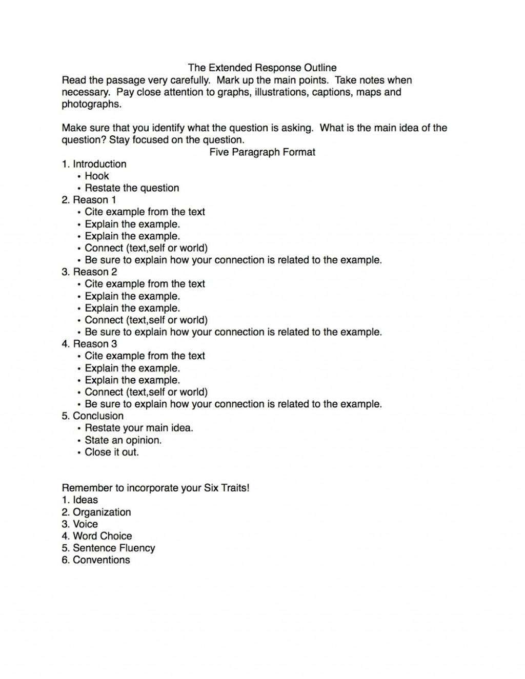 013 Response Paper Outline Critical Essay Fantastic Example Pdf Good Large