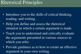 013 Rhetorical Principles L Essay Example Dreaded Definition Analysis Meaning