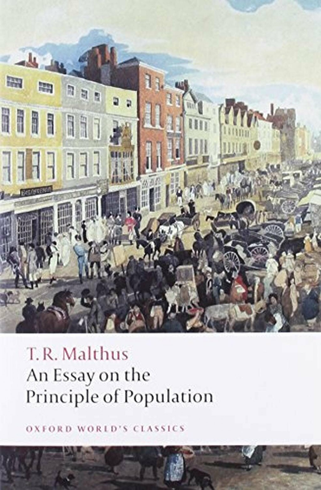 013 S L1600 Thomas Malthus An Essay On The Principle Of Population Marvelous Summary Analysis Argued In His (1798) That Large