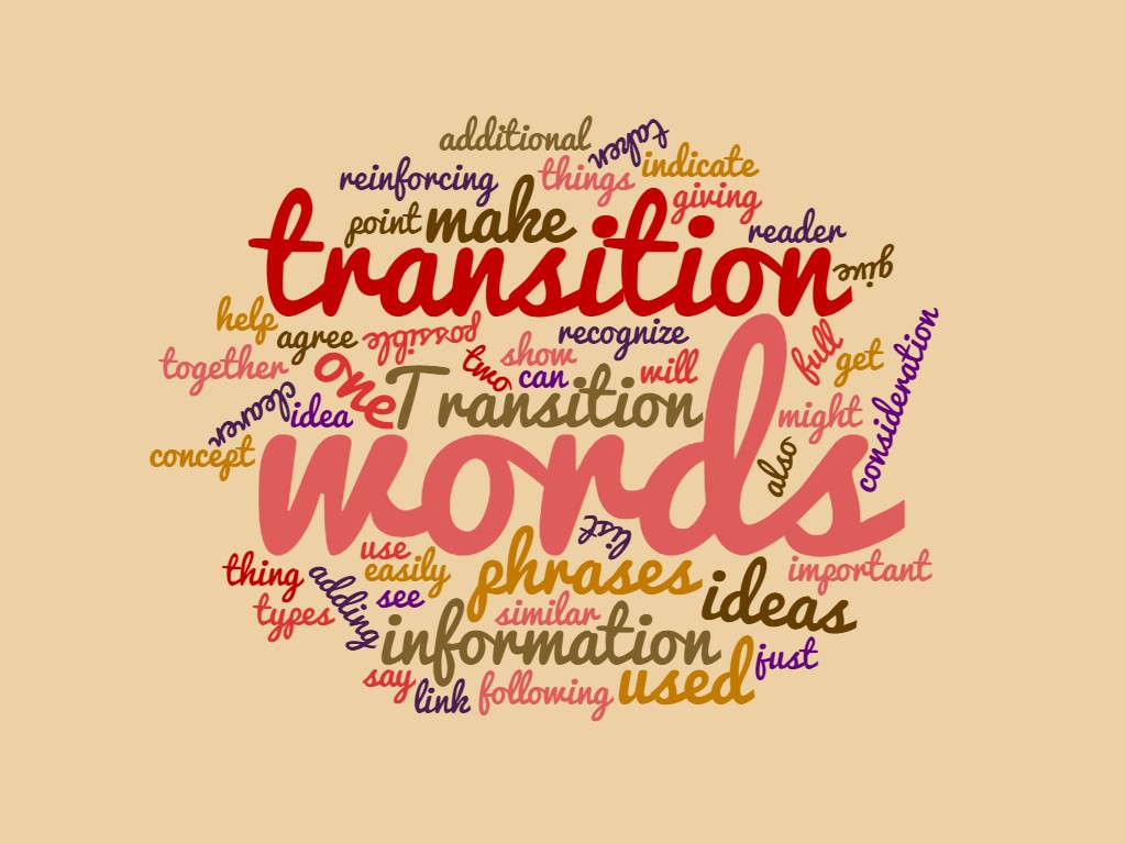 013 Transition Words For Essays Essay Rare Pdf List 4th Grade Large