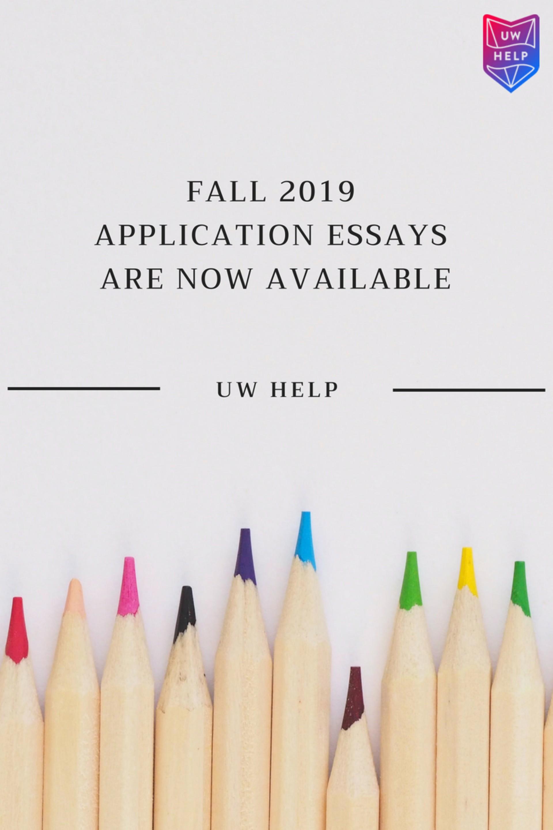 013 Uw Essay Prompt Fascinating La Crosse Prompts University Of Wisconsin 2019 Bothell 1920