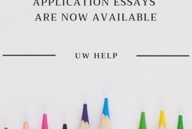 013 Uw Essay Prompt Fascinating La Crosse Prompts University Of Wisconsin 2019 Bothell