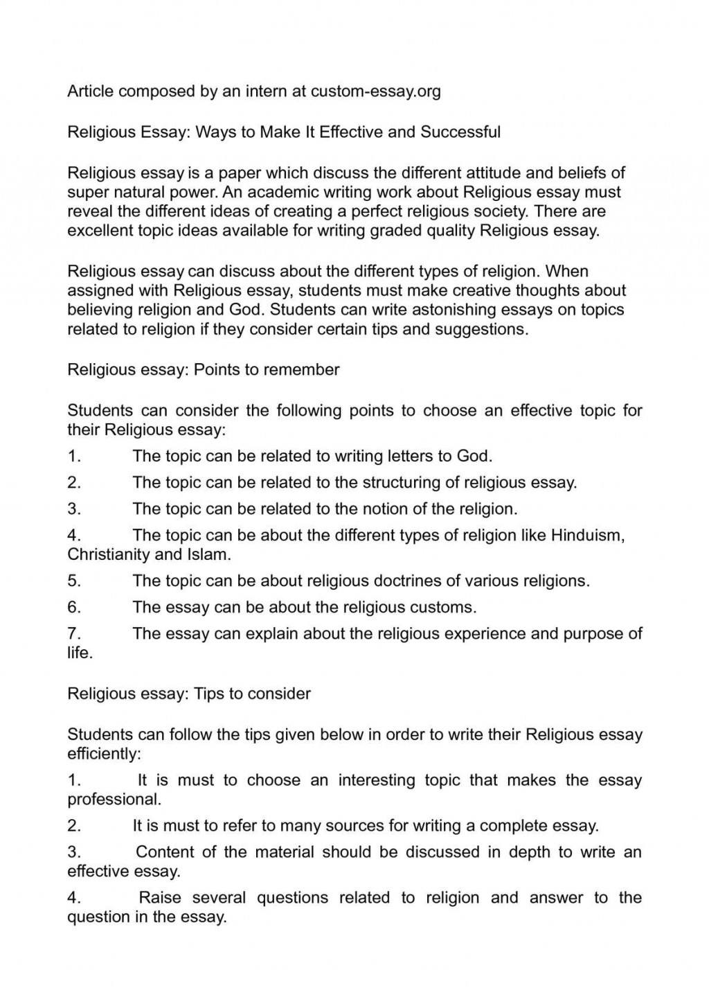 013 What Is Religion Essay Example Outstanding Your Civil Definition Large