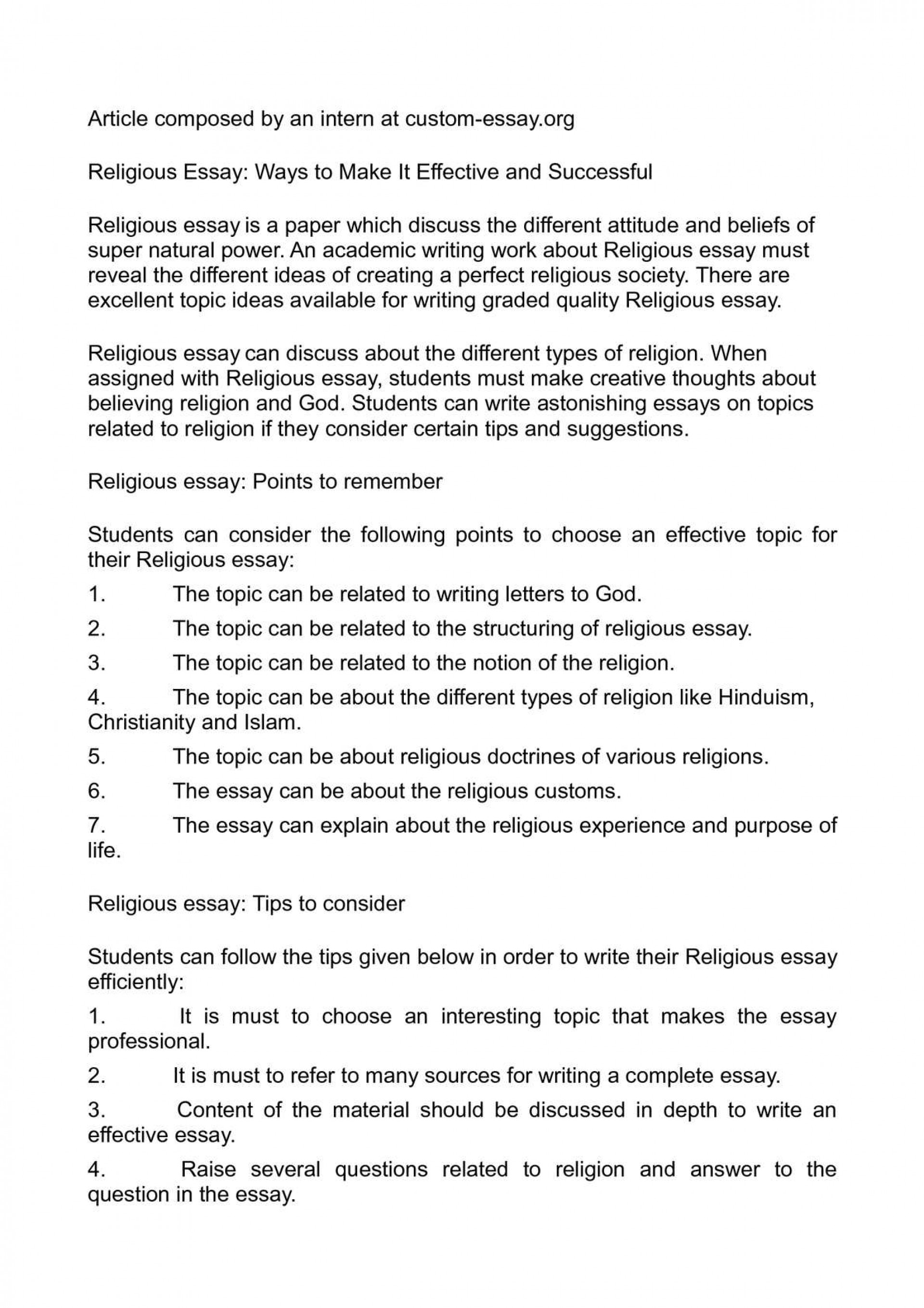 013 What Is Religion Essay Example Outstanding Your Civil Definition 1920