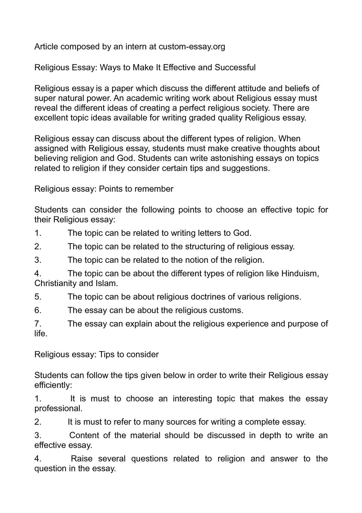 013 What Is Religion Essay Example Outstanding Your Civil Definition Full