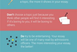 013 What Not To Write About In College Essay Frightening Things Your Admissions 320