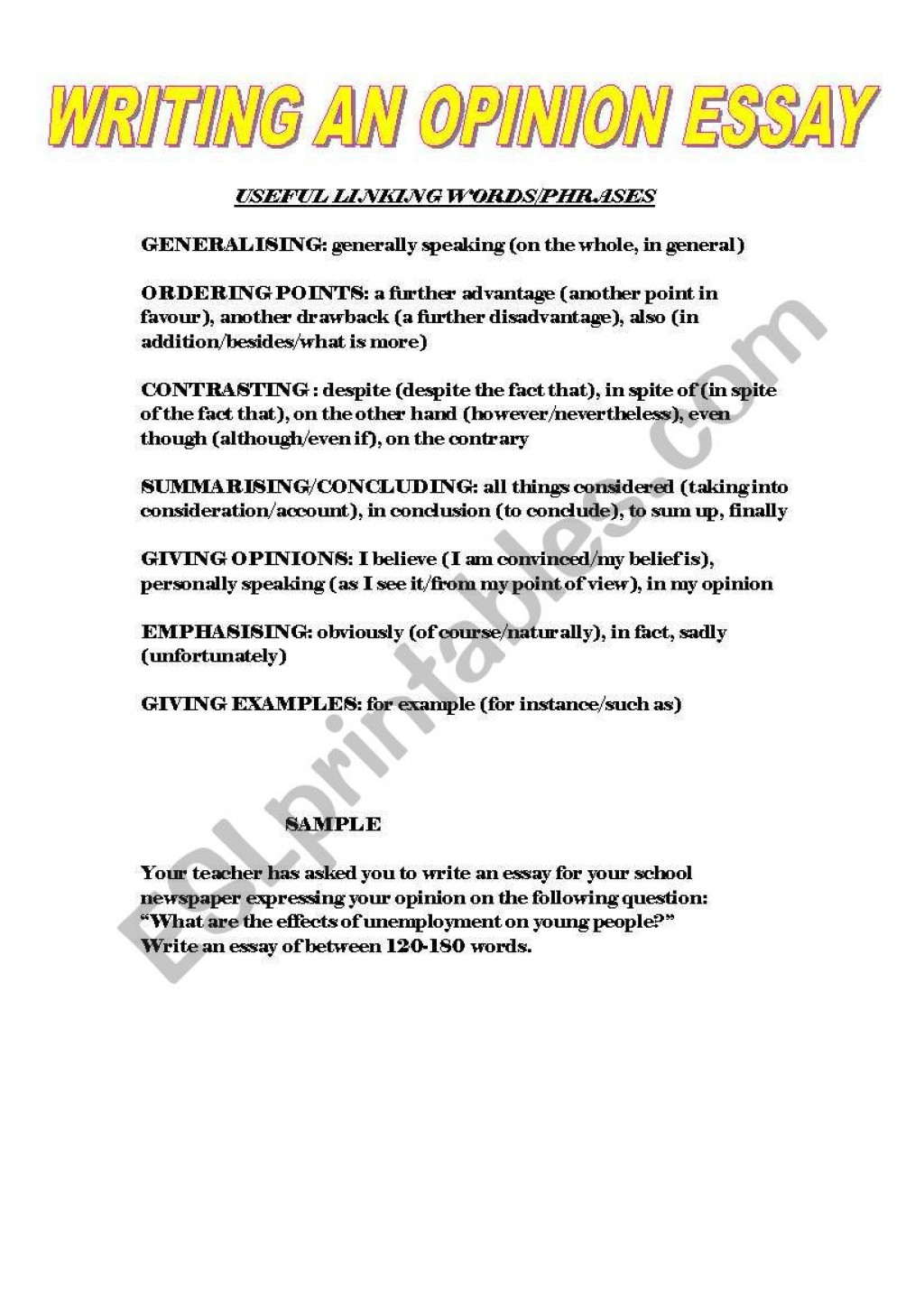 014 49469 1 Writing An Essay Example Magnificent Opinion Prompts 6th Grade Examples 3rd Large