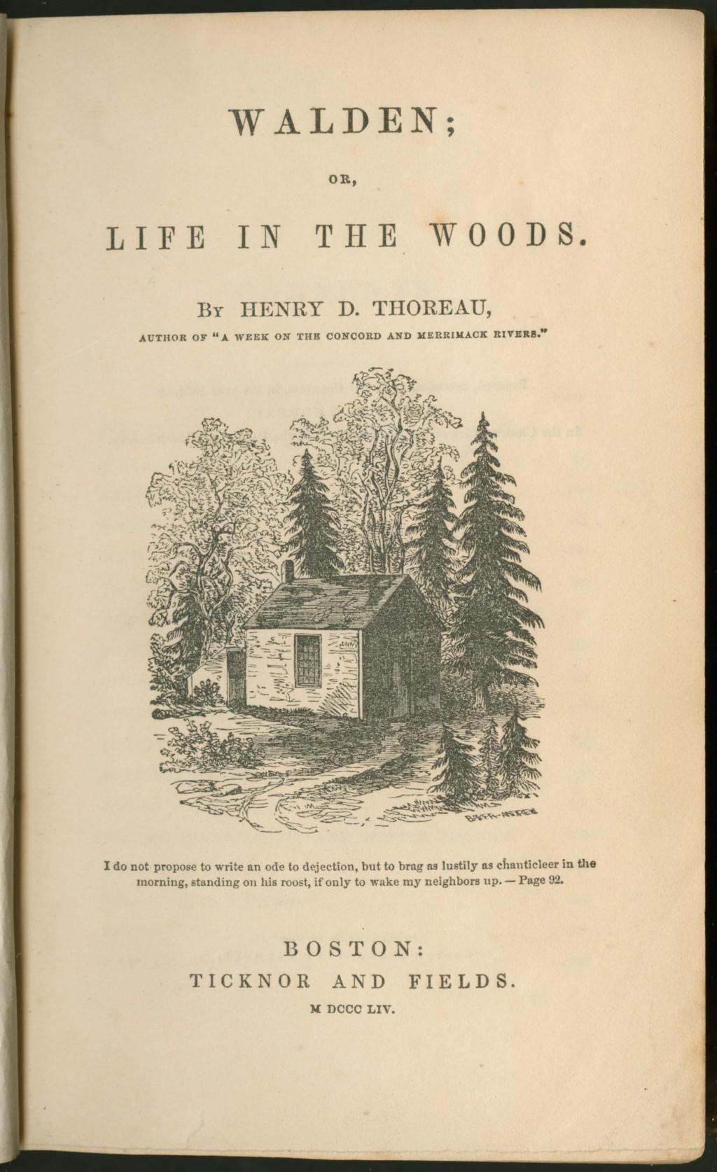 014 818 31 W14 1854 Tp Emerson Essays Essay Dreaded Ralph Pdf First Series Summary Waldo Nature Large