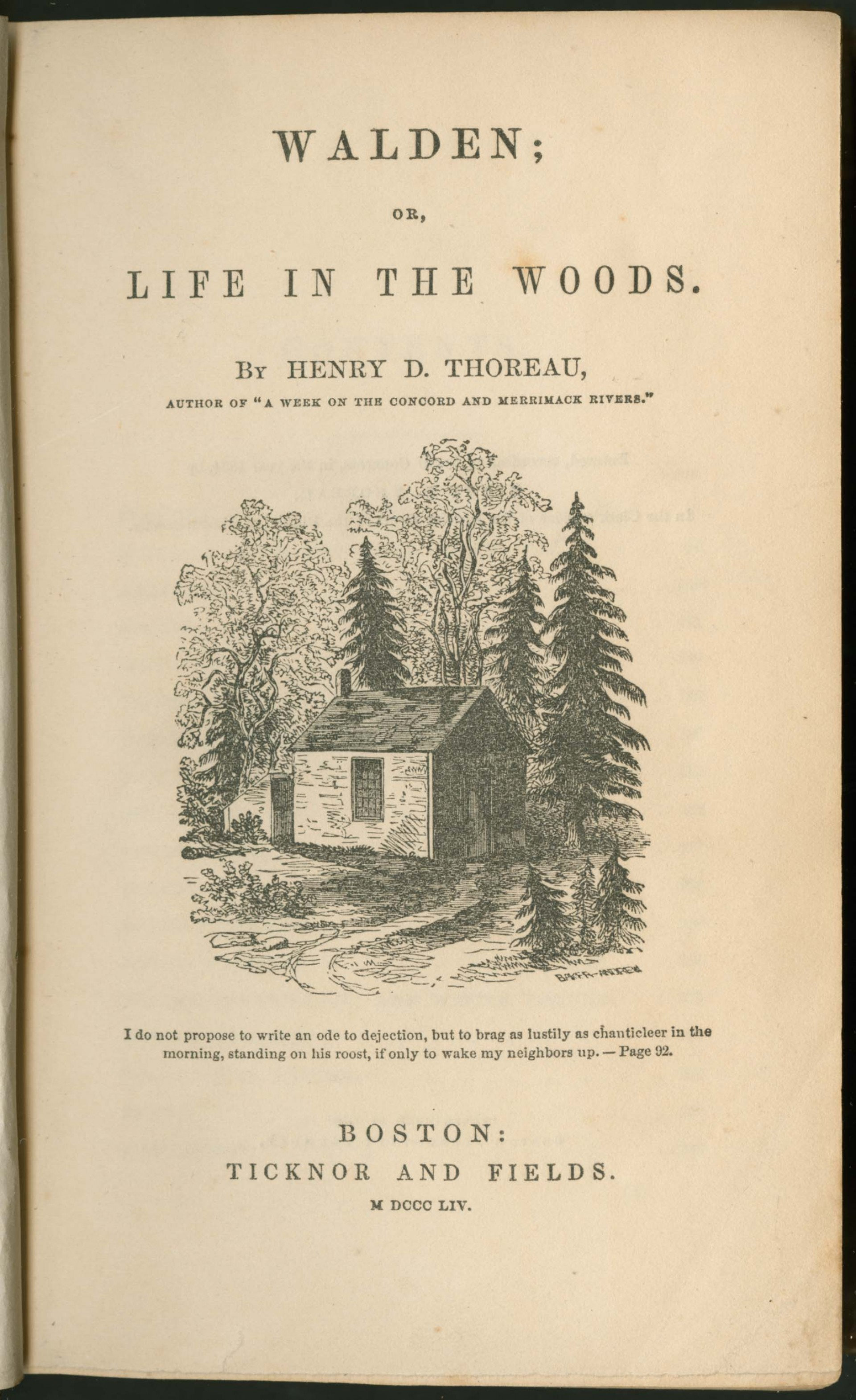 014 818 31 W14 1854 Tp Emerson Essays Essay Dreaded Ralph Pdf First Series Summary Waldo Nature 1920